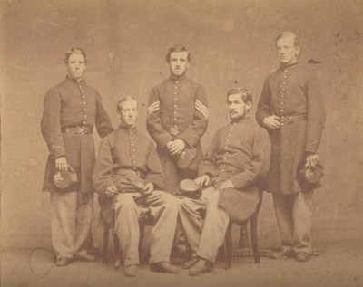 Andover Civil War photograph Marland cousins