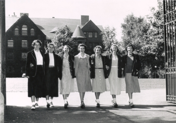 Andover Abbot Academy girls students